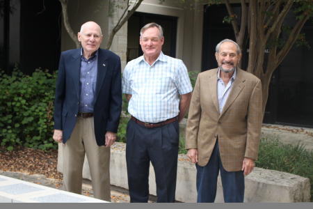 Fred Fay, James Owens and Dr. Mitch Sacco - Living Legends of 2020