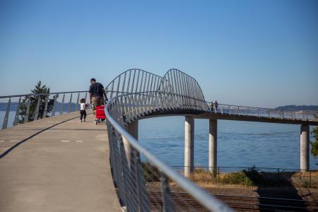 Chambers Bay Loop Trail Bridge