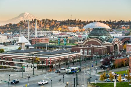 Downtown Tacoma and the Museum District