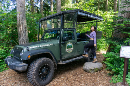 Wild Drive at Northwest Trek Wildlife Park