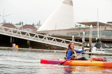 Foss waterway kayak