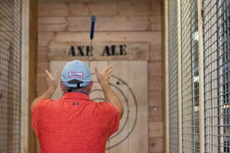 Axe & Ale - Axe Throwing Bar | Topeka, KS