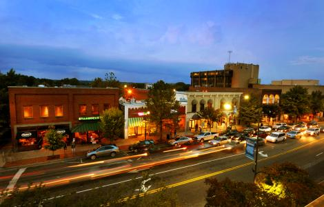 Franklin Street downtown Chapel Hill