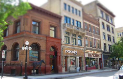 Travel through Time in Winnipeg's Exchange District