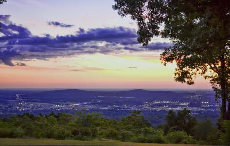 View from Burritt on the Mountain