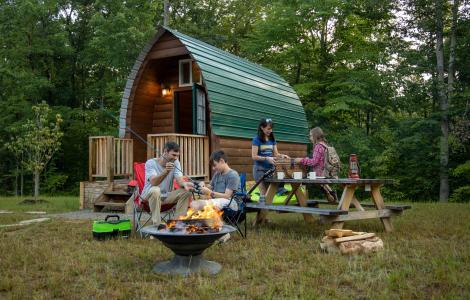 Campfire & Cabin - Explore Park in Roanoke County