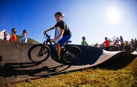 Bike Pump Track - Go Outside Festival
