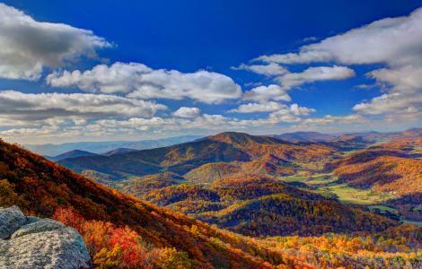 Fall Colors in Virginia's Blue Ridge