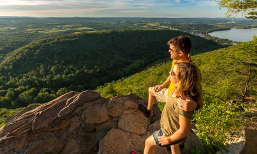 Hawk Rock Overlook Difficult Hike