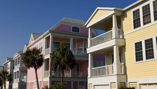 Garden City beach homes