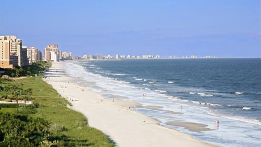 Myrtle Beach area Beaches are Open