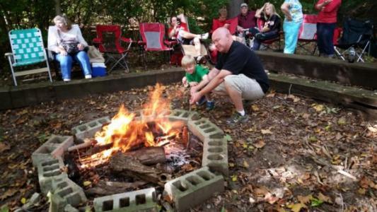 Tom's Maze Private Campfire