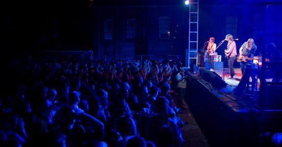 Band at Deep Roots Festival