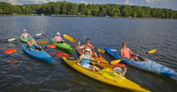 Lake Sinclair Kayaking