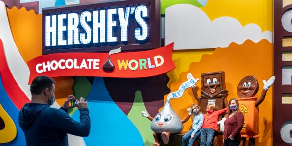 Chocolate World Family Picture