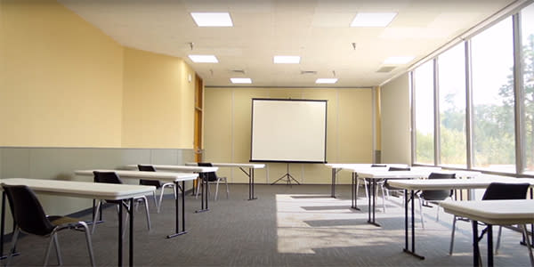 Lane Events Center Distanced Classroom