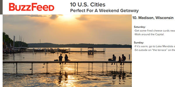 10 U.S. Cities Perfect For A Weekend Getaway