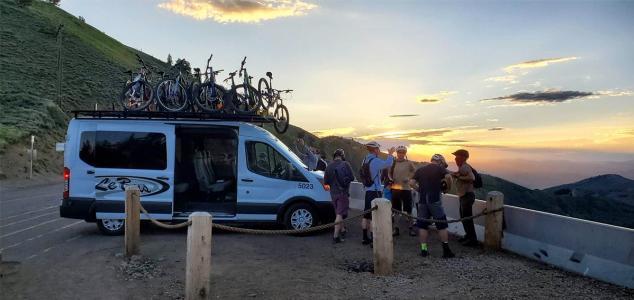 Le Bus in Utah Mountain Bike