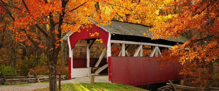 Covered Bridge, Somerset Historical Center