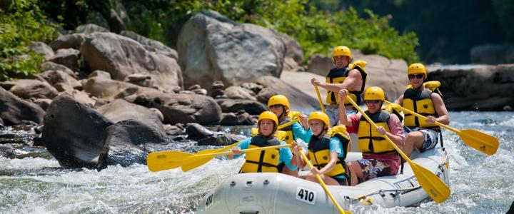Whitewater Rafting Ohiopyle