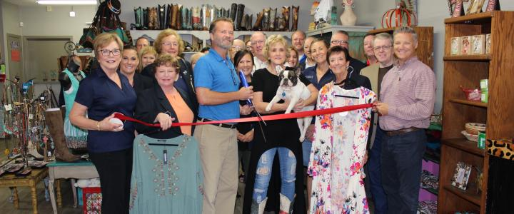 Ribbon Cutting - Pure Country the Cowgirl Way
