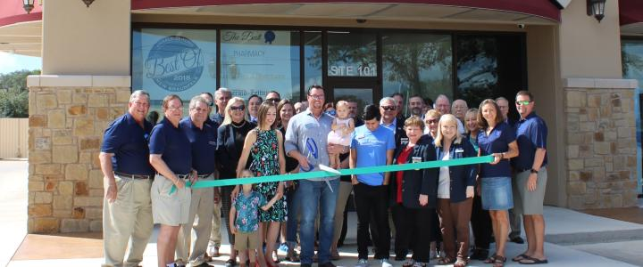 Ribbon Cutting - Gruene Road Pharmacy at Hunters Village