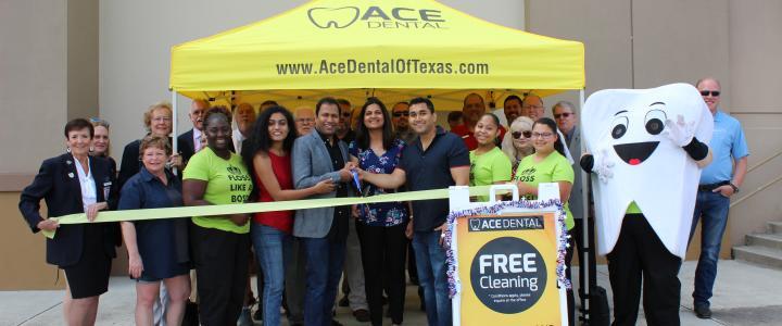 Ribbon Cutting - Ace Dental of New Braunfels