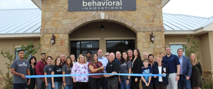 Ribbon Cutting Behavioral Innovations
