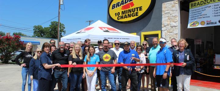 Ribbon Cutting - Bradzoil, Inc.