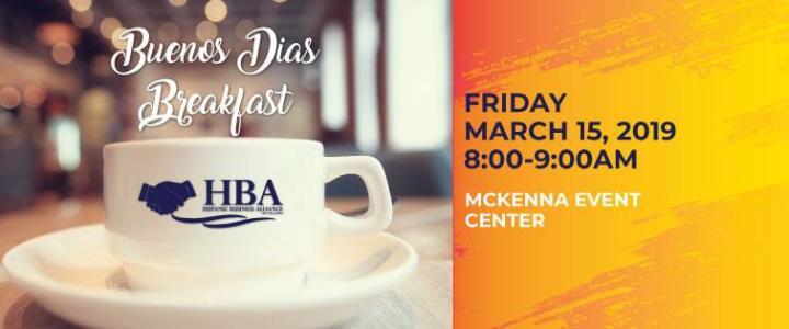 HBA Buenos Dias Breakfast March 2019