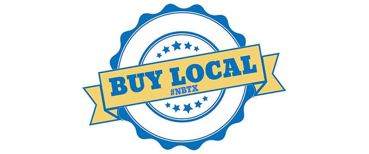 Buy Local NBTX Campaign Sticker
