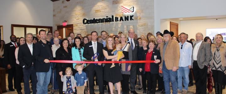 Ribbon Cutting: Centennial Bank