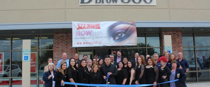 Ribbon Cutting - D'LashNBrow 360 Studio