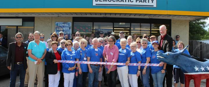 Ribbon Cutting - Democrats of Comal County