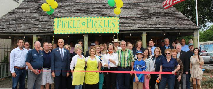 Ribbon Cutting - Fickle Pickles