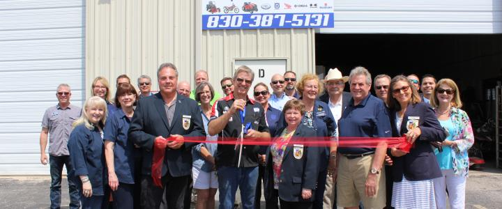 Ribbon Cutting - Motorcycles and Mowers LLC