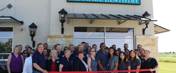 Ribbon Cutting - Texas Tykes Pediatric Dentistry