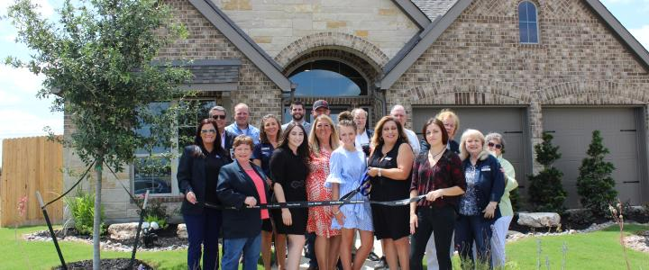 Ribbon Cutting - Perry Homes at Wasser Ranch