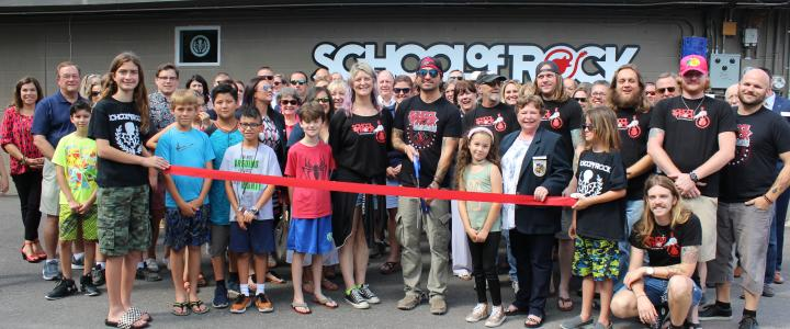 Ribbon Cutting - School of Rock New Braunfels