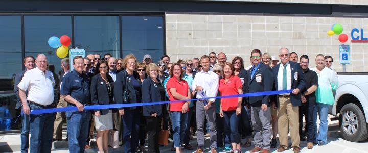 Ribbon Cutting - Lone Star Storage Center - New Braunfels
