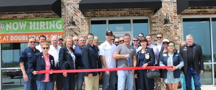 Ribbon Cutting - Double Dave's Pizzaworks