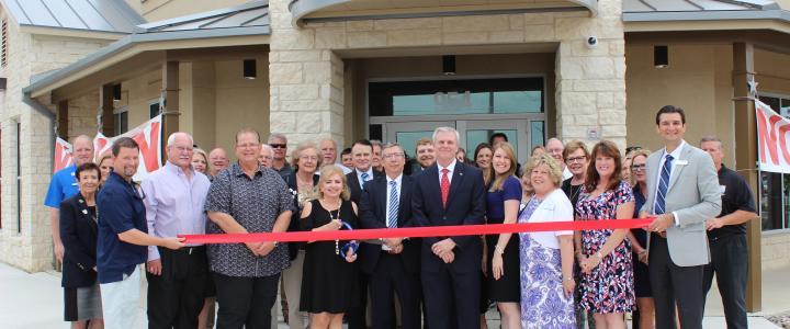 Ribbon Cutting II - TexStar National Bank