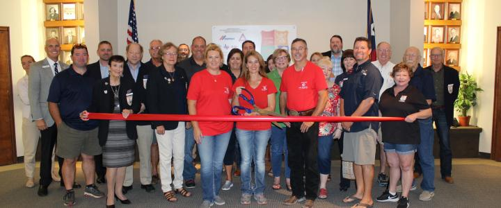Ribbon Cutting - Hill Country Junk