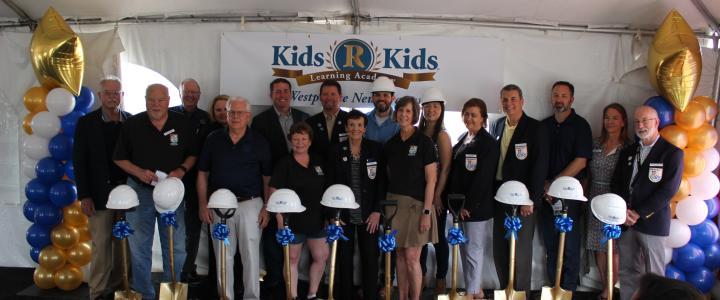 Ribbon Cutting - Kids 'R' Kids Westpointe New Braunfels