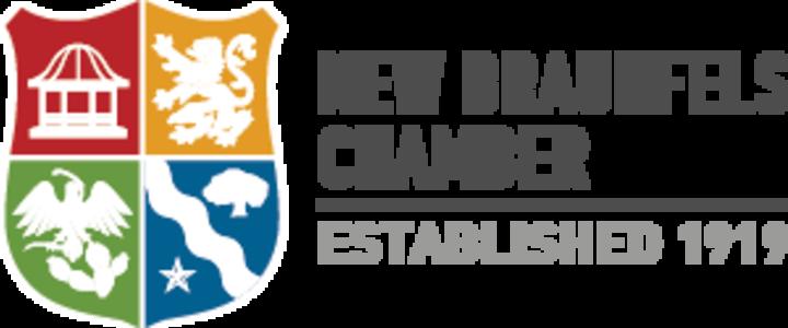 New Braunfels Chamber: Established 1919 Logo