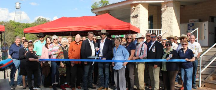 Ribbon Cutting - Nelson's Millinery & Mercantile