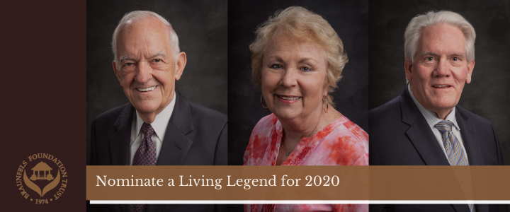 Living Legends Nominations Now Open
