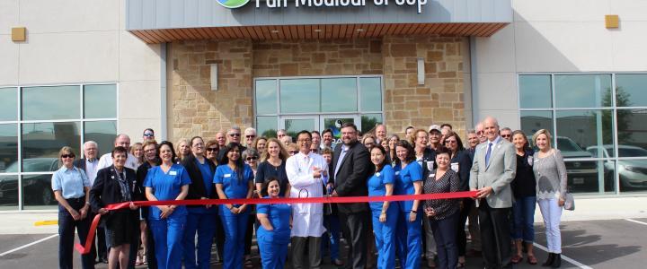 Ribbon Cutting - Pak Medical Group