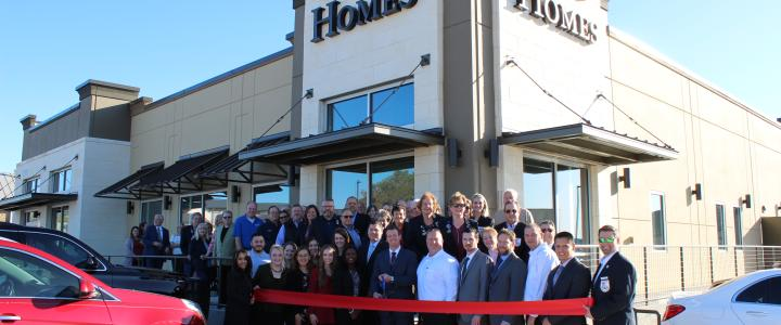 Ribbon Cutting - Perry Homes New Central Texas Office