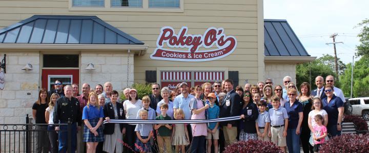 Ribbon Cutting - Pokey O's Cookies and Ice Cream